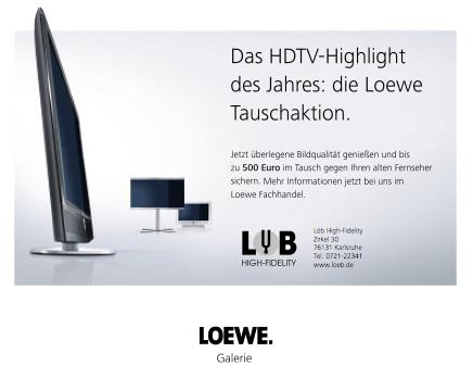 Loewe Tauschaktion