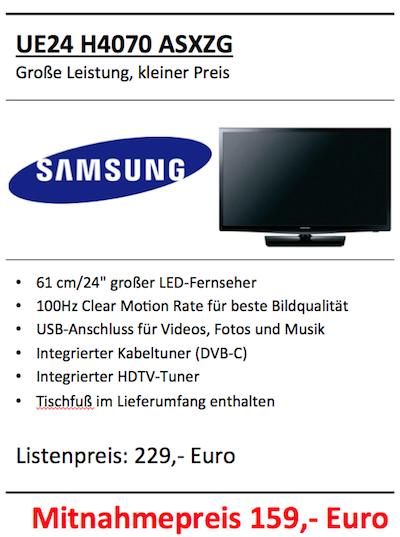 Samsung UE24 H4070 ASXZG