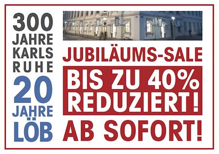 LÖB Jubiläums-Sale